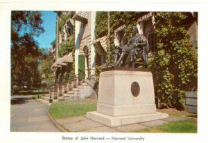 6.01 - View of the John Harvard statue