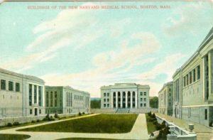 "6.06 CPC - ""Buildings of the New Harvard Medical School, Boston, Mass."" ca.1907-1912 [Robbins Bros. Co., Boston, MA]"