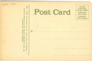 "6.06 CPC - ""Buildings of the New Harvard Medical School, Boston, Mass."" ca.1907-1912 [Robbins Bros. Co., Boston, MA] (back)"