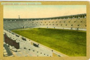 "6.08 CPC - ""Cambridge, Mass., Stadium, Soldiers Field"" ca.1910-1917 [Mason Bros. & Co., Boston, MA] *"