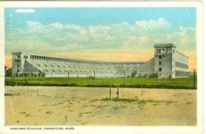"6.09 CPC - ""Harvard Stadium, Cambridge, Mass."" ca.1917 [Mason Bros. & Co., Boston, MA] *"