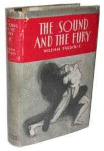 The Sound and the Fury, first edition