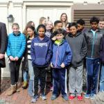 CHS tour, Shady Hill school, March 2016