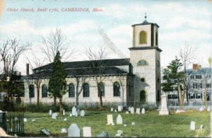 "1.15 CPC - ""Christ Church, built 1761, Cambridge, Mass."" ca.1930-1944 [no publisher, Germany] *"