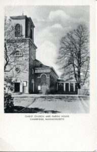 "1.19 CPC - ""Christ Church and Parish House, Cambridge, Massachusetts"" ca. 1936-1944 [United Art Co., Boston, MA]"