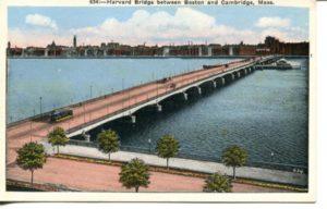 "2.05 CPC - ""634: - Harvard Bridge between Boston and Cambridge, Mass."" ca.1936-1944 [United Art Co., Boston, MA]"
