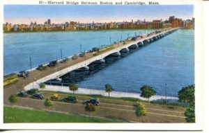 "2.06 CPC - ""53: - Harvard Bridge between Boston and Cambridge, Mass."" ca.1936-1944 [United Art Co., Boston, MA]"