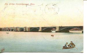 "2.08 CPC - ""New Bridge, Cambridgeport, Mass."" ca.1907 [Robbins Bros., Boston, MA] *"