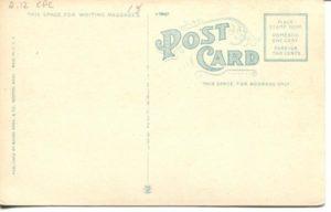 "2.12 CPC - ""Massachusetts Institute of Technology and Harvard Bridge, Cambridge, Mass."" ca.1907-1912 [Mason Bros. & Company, Boston, MA] (back)"