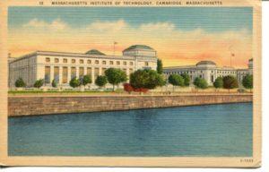 "2.14 CPC - ""12 Massachusetts Institute of Technology. Cambridge, Massachusetts"" ca.1930-1944 [American Art Post Card Co., Brookline, MA]"