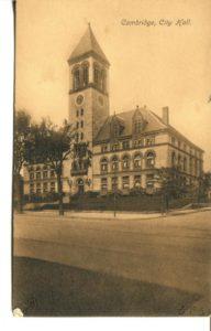 "4.01 CPC - ""Cambridge City Hall"" ca.1907 [Metropolitan News Co., Boston, MA] *"