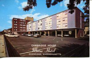 "4.03 CPC - ""Cambridge House, Motor Hotel, Cambridge, Massachusetts"" ca.1960-1980 [Yankee Colour Corporation, Southborough, MA]"