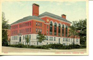 "4.04 CPC - ""Cambridge High School, Cambridge, Mass."" ca.1907-1914 [no publisher]"