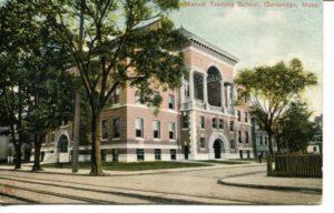 "4.06 CPC - ""Manual Training School, Cambridge, Mass."" ca.1907-1912 [Robbins Bros., Boston, MA]*"