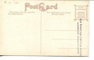 "4.07 CPC - ""Rindge Manual Training School, Cambridge, Mass."" ca.1907-1914 [no publisher] (back)"