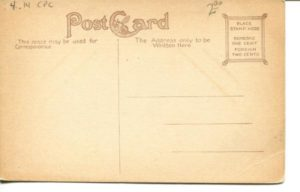 "4.14 CPC - ""Savings Bank Building, Cambridge, Mass."" ca.1907-1914 [no publisher] (back)"
