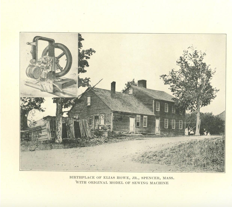 Birthplace of Elias Howe