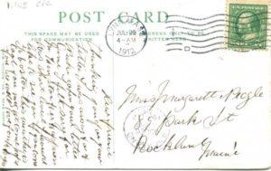 "1.105 CPC - ""4. Cambridge, Mass., Home of Longfellow"" ca.1907-1912 [Mason Bros. & Company, Boston, MA] * (back)"