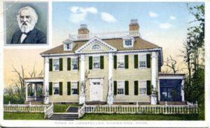 "1.107 CPC - ""Home of Longfellow, Cambridge, Mass."" ca.1904-1924 [The New England News Company, Boston, MA]"