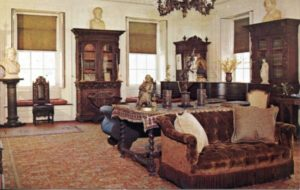 1.112 CPC - Library, Longfellow's House ca.1960-1996 [Bromley & Co, Inc., Boston, MA] Photograph: Henry Cobb Shaw
