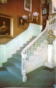 1.114 CPC - Front Hall, Longfellow House ca.1960-1996 [Bromley & Co, Inc., Boston, MA] Photograph: Henry Cobb Shaw