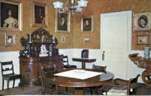 1.116 CPC - Dining Room, Longfellow National Historic Site, Cambridge, Massachusetts ca.1960-1996 [Bromley & Co, Inc., Boston, MA]