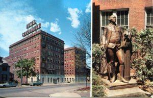 """1.98 CPC - """"Commander Hotel"""" ca.1950-1969 [Colourpicture Publishers, Inc., Boston, MA]"""