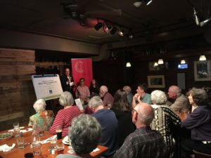 """""""the facts"""" History Cafe crowd"""