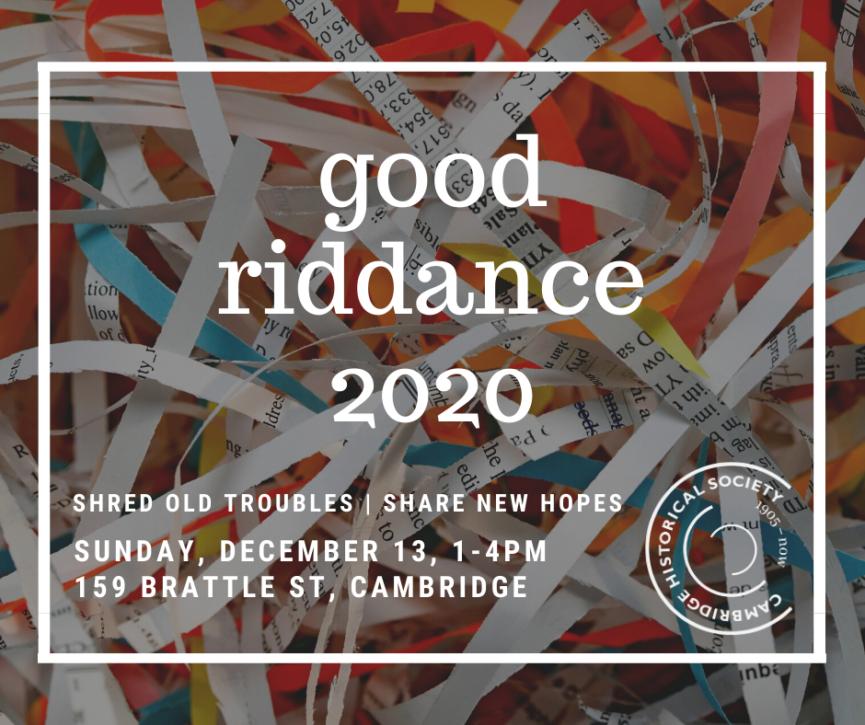 Good Riddance 2020 Event GFX